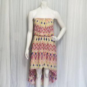 Strapless High Low Dress XL